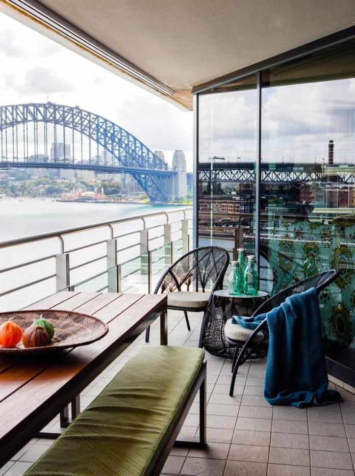 Eclectic Balcony Design
