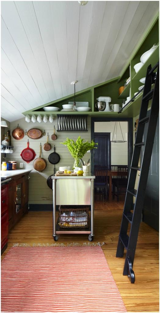 Attic Farmhouse Kitchen Design
