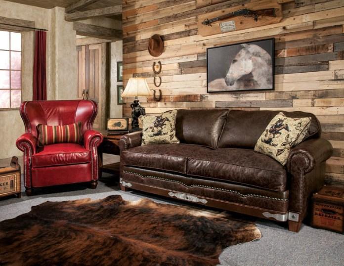 Small Southwestern Living Room