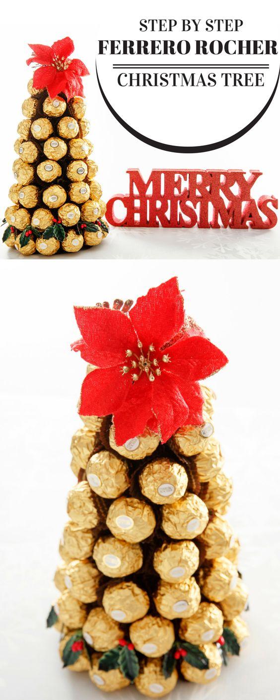 Ferrero Rocher Chocolate Christmas Tree