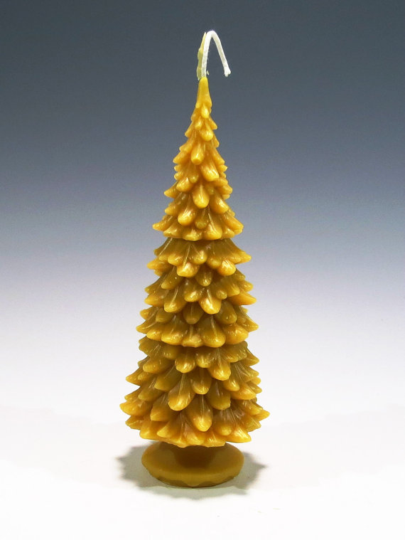 Beeswax Christmas Tree Candle dwellingdecor