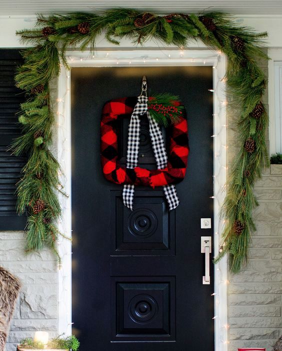 Christmas Wreath decoration ideas dwellingdecor