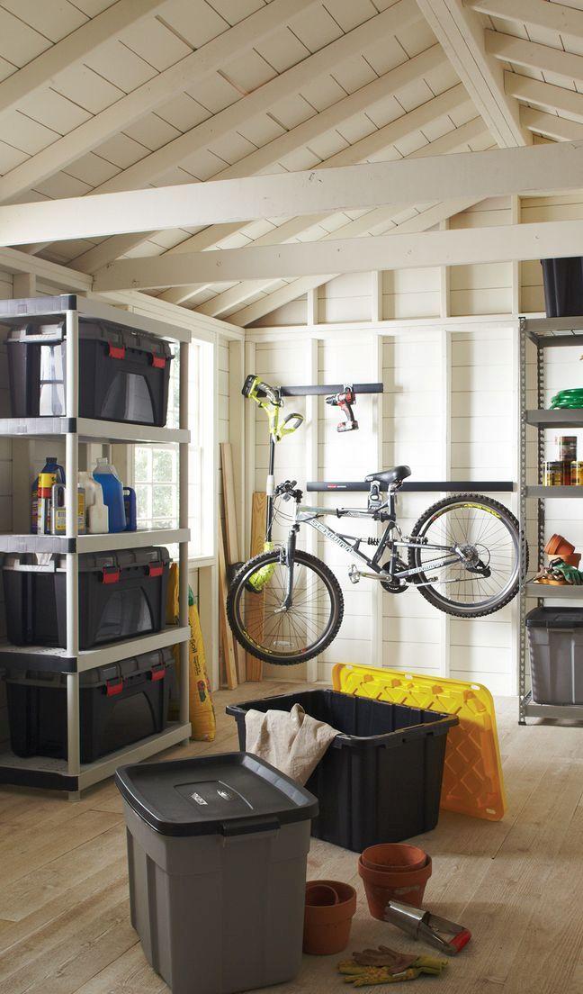 Smart Storage Solution With plastic storage bins