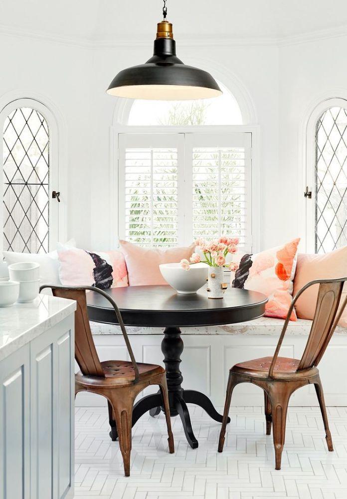 Breakfast Nook Ideas For Your Kitchen dwellingdecor (29)