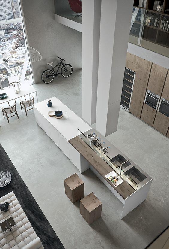 Industrial Loft Style Kitchen