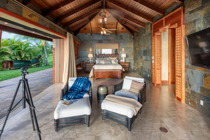 Tropical Outdoor Bedroom dwellingdecor