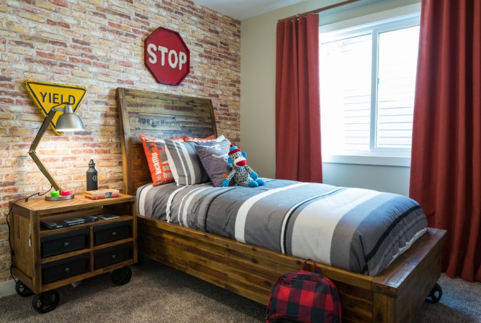 Industrial Style Kids Bedroom Furniture