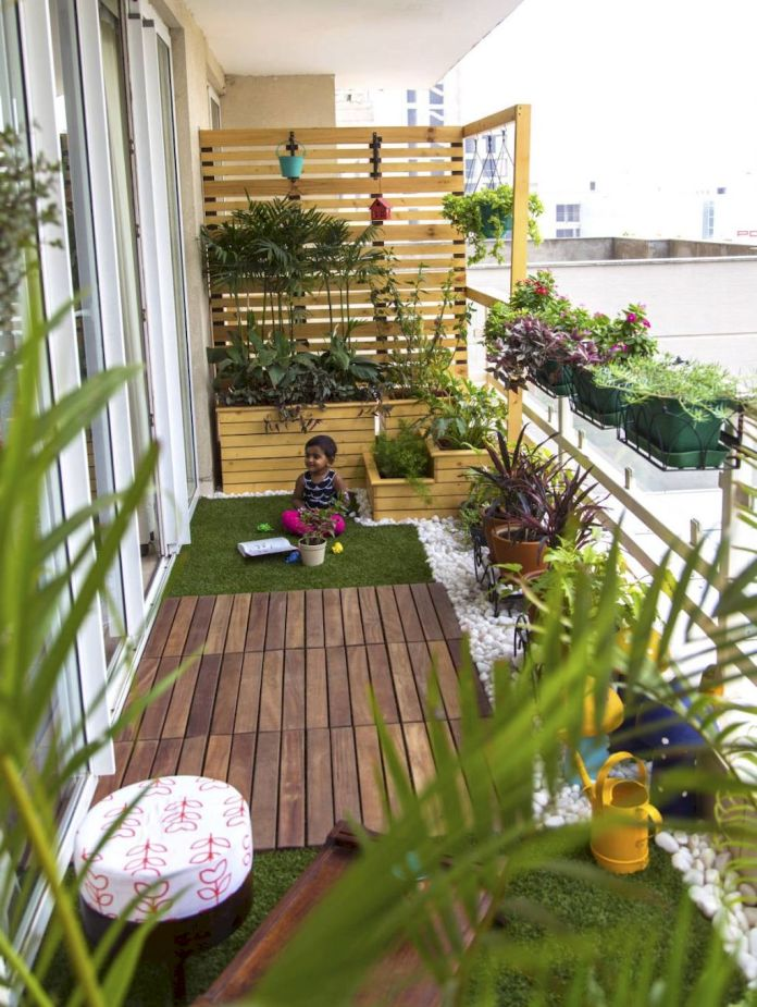 Affordable Small Apartment Balcony Garden Dwellingdecor