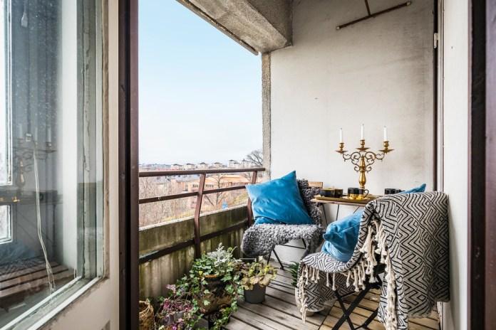 Eclectic Small Garden Balcony Dwellingdecor