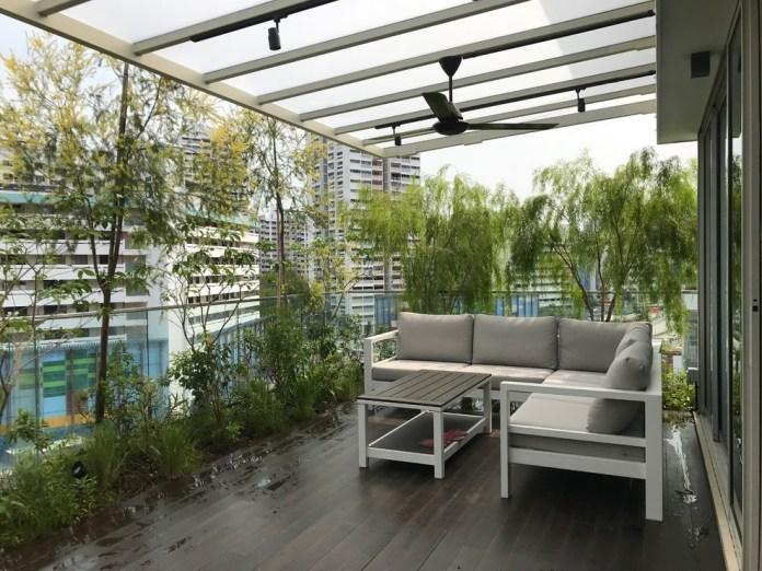 Roof Terrace Glass Railing Balcony Dwellingdecor