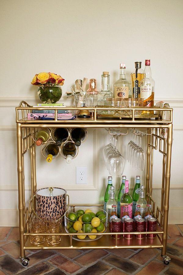 Bar Cart Designs Ideas (20)
