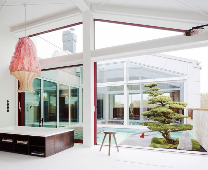Zen Style Open Concept Master Bathroom