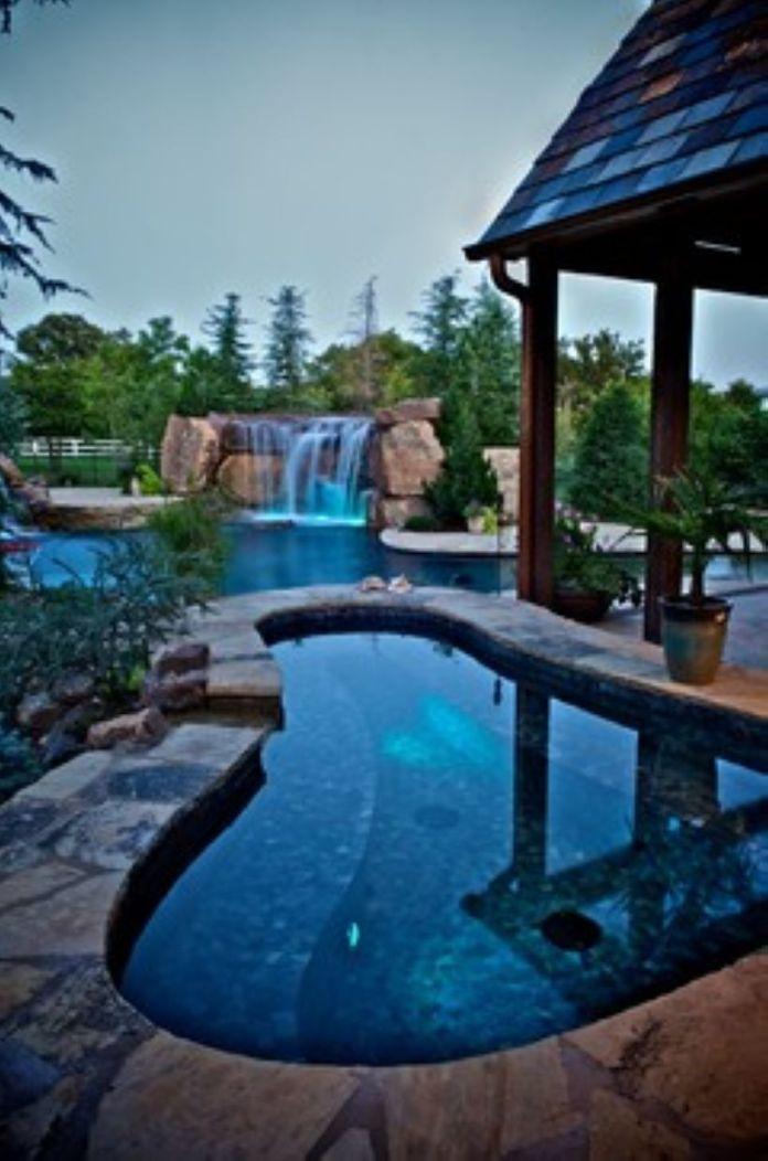 Pool Waterfall Ideas (2)