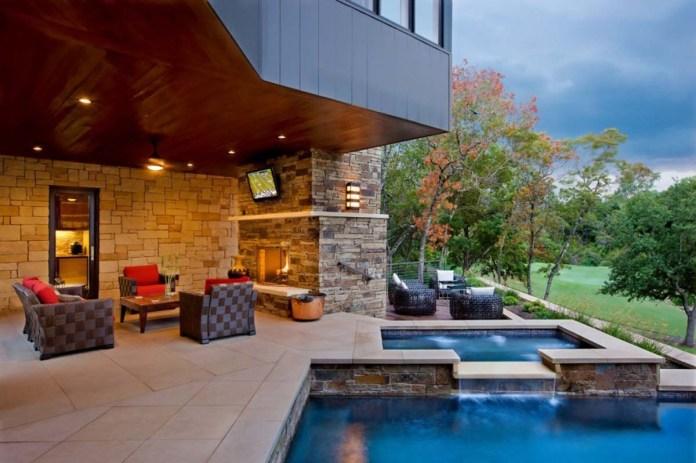 Pool Waterfall Ideas (3)