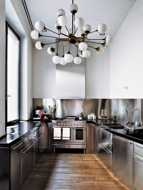 Stainless steel and metallic accessories
