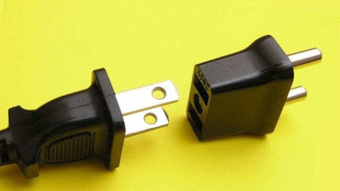 Not Carrying a Universal Power Adapter