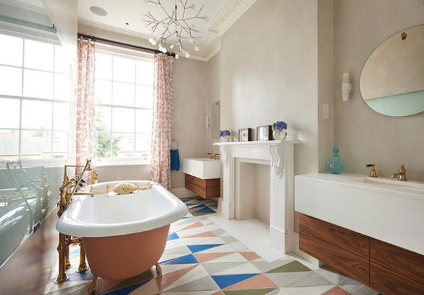 Retro Bathrooms Design (30)