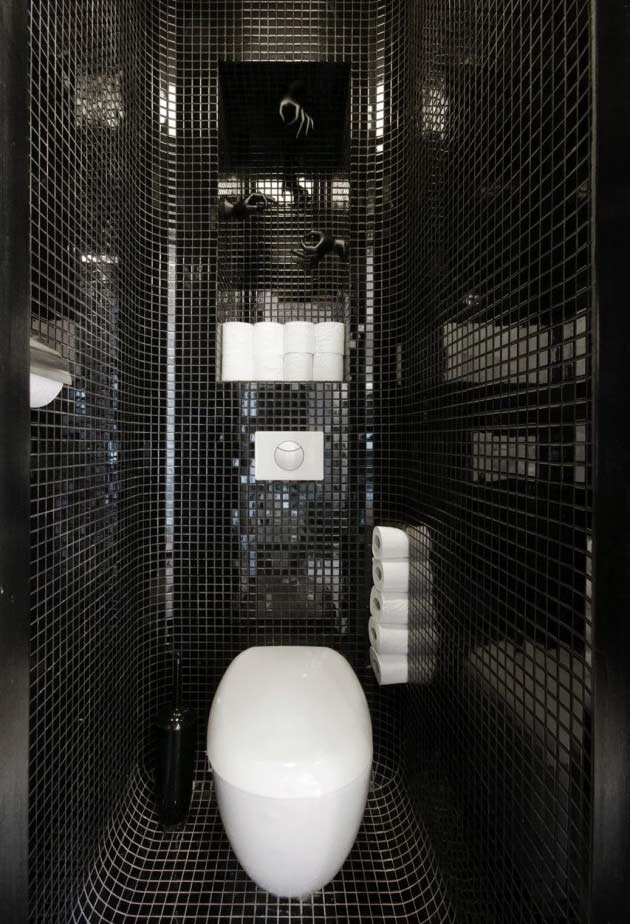 Texture and innovative shapes with rounded walls and inserts