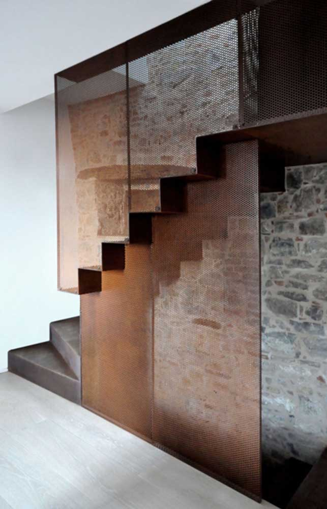 24. Corten steel may be the missing piece to fit the ladder.