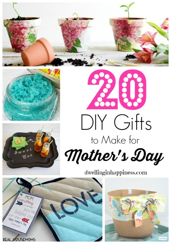 20 DIY Gifts to Make for Mother's Day