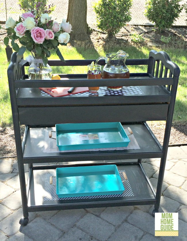 painted-changing-table-to-bar-cart