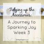 Tidying up the Accessories: A Journey to Sparking Joy Week 3