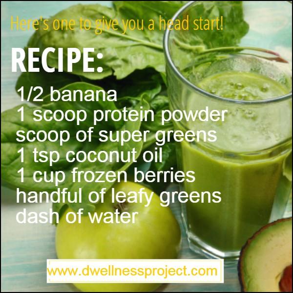 Green Dwellness Smoothie Recipe