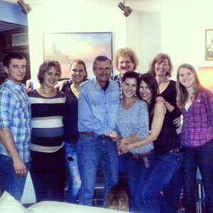 Joan's family in Tucson