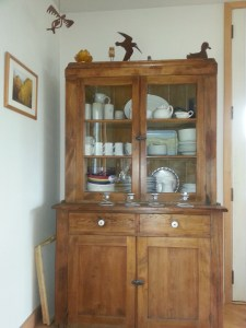 Mom's antique cupboard