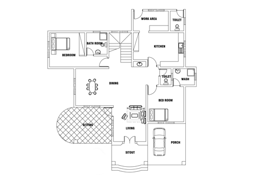 dwg net | cad blocks and house plan free download