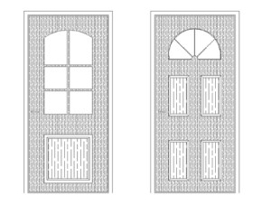 Beautiful Door cad block free download with dwg net website