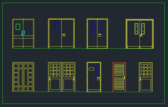 Door schedule CAD Drawing  sc 1 st  DWG NET & Door schedule CAD Drawing free download from dwg net .com