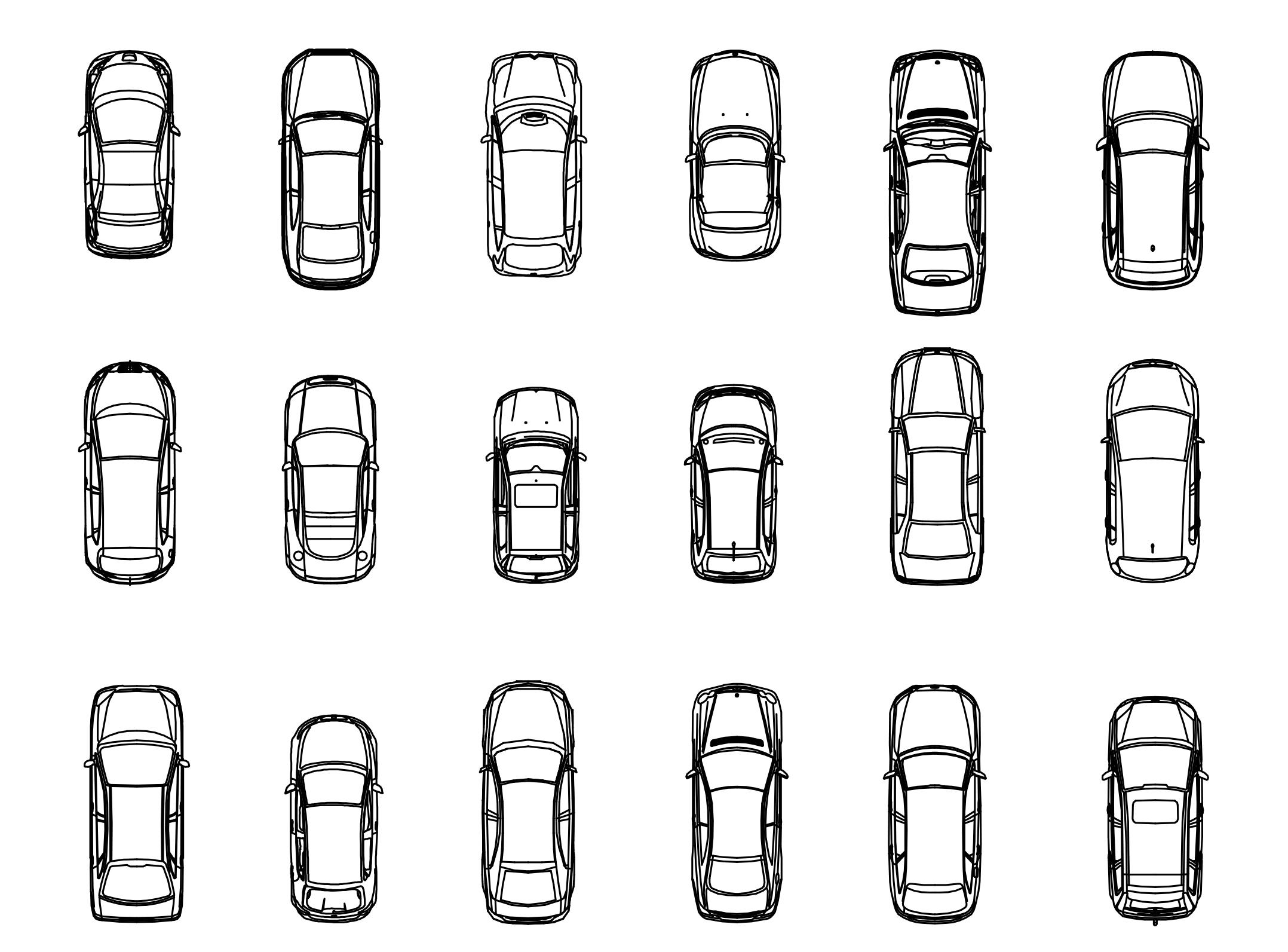 Car DWG CAD Blocks