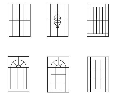Aluminium cast aluminium or iron window grills design for Window design cad