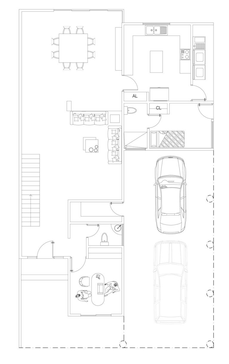 Stunning Ground Floor First Floor Home Plan Contemporary - Best ...
