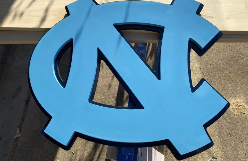 UNC Tarheel Sign
