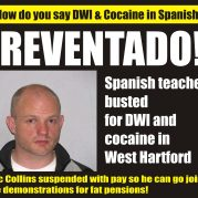 Teacher busted for DWI and Cocaine