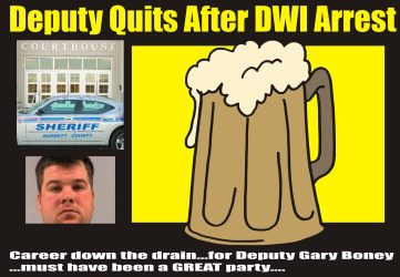 Deputy quits after DWI arrest in NC