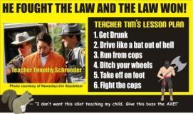 Teacher Tim's Lesson Plan for DWI arrest