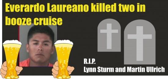 Two dead in Waller County TX Everado Laureano is DWI murder 071513