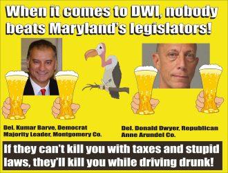Bipartisan Maryland DWI legislators