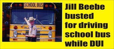 DUI school bus Jill Beebe