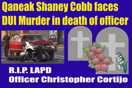 Cobb faces DUI murder death of LAPD officer