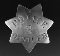 Stockton Police Department Badge