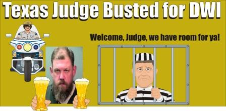 Texas Judge busted for DWI