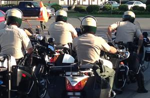 Riverside County Calif Sheriff motor units