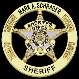 Chattooga County Ga. Sheriff Mark Schrader