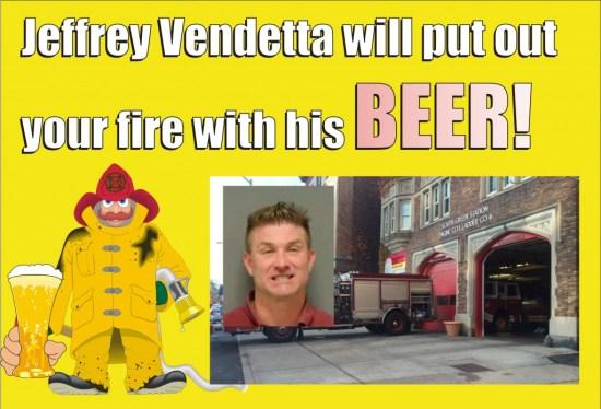 Jeffrey Vendetta DWI fire