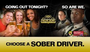 MSP choose a sober driver