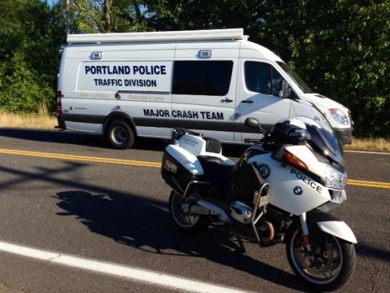 Portland Police Major Crash Team